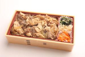 牛すき焼き重 1,000円