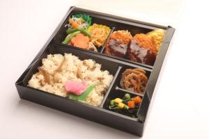 ひれかつ弁当(五目御飯) 1,200円